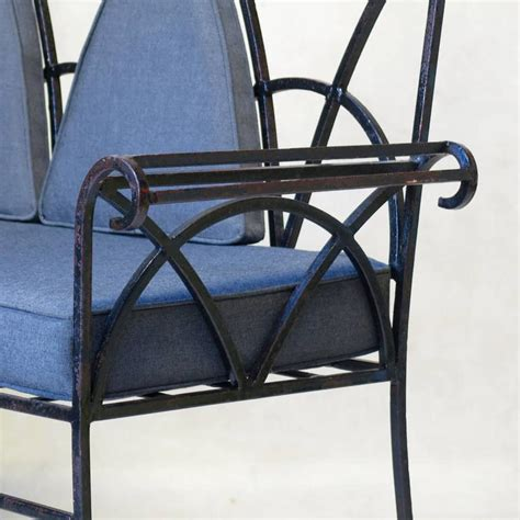 wrought iron settee wrought iron settee 28 images jean charles moreux