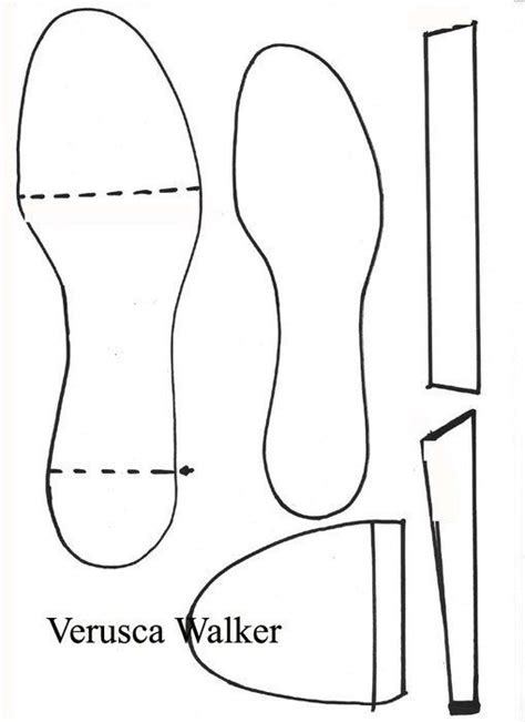 fondant shoes template high heel shoe template printable for cakes cakepins