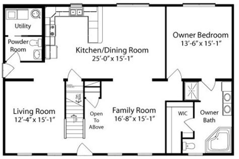 by all american homes two story floorplan