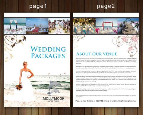 Wedding Brochure Design by 38 Professional Wedding Brochure Designs For A Wedding