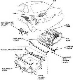 where is fuel filter on 2000 honda accord get free image