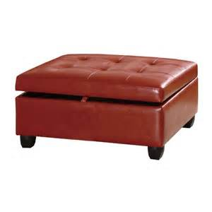 Leather Coffee Table Ottoman Creating Edgy Atmosphere With Leather Ottoman Coffee Table Coffe Table Gallery