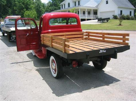 Stake Bed Ford Script Stakebed Perfect Wood Sides The H A M B