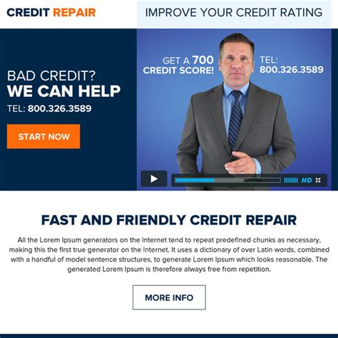 how to fix credit fast to buy a house professional credit repair ppv landing page designs