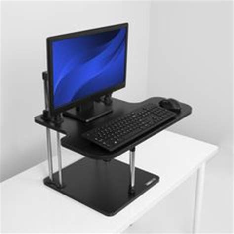 varidesk pro raise lower your keyboard monitor to work