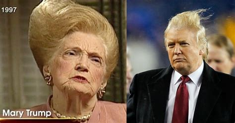 donald trump parents donald trump s hair looks exactly like his mother s and