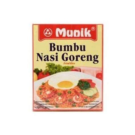 bamboe ayam goreng kalasan 55 gr bumbu nasi goreng fried rice 55 gr by munik