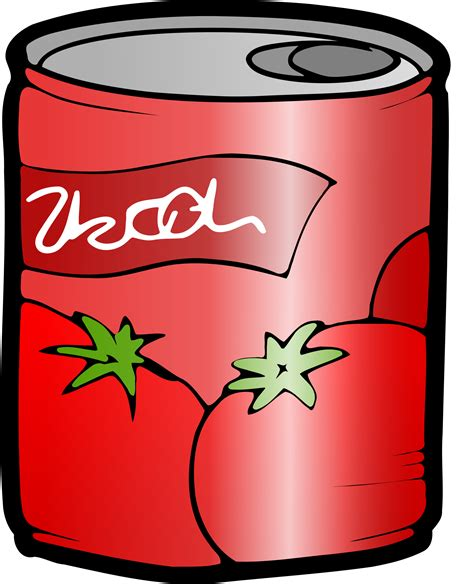 can clipart clipart can of tomato juice