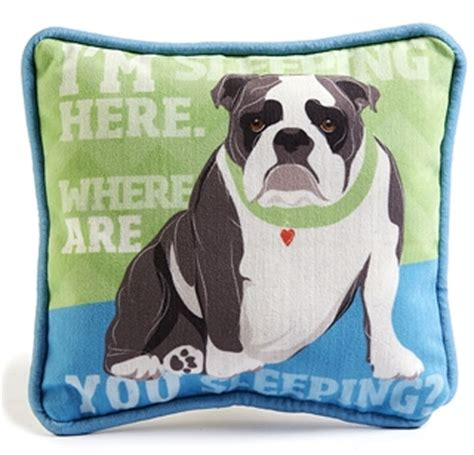 Doggie Pillow by Bulldog Decorative Pillow 9x8