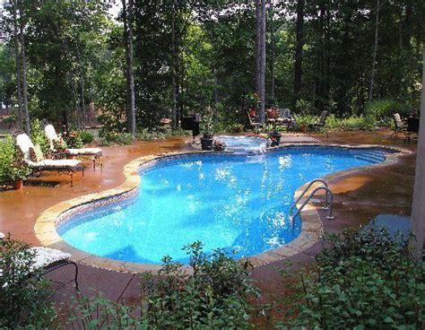 Backyard Pool Depth 25 Best Ideas About Vinyl Pool On Inground