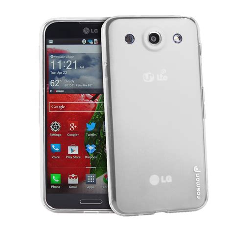for lg optimus g pro e980 tpu gel slim rubber frosted
