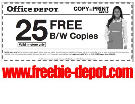 Office Depot Copies Don T Miss Out On This Year S Tax Freebies