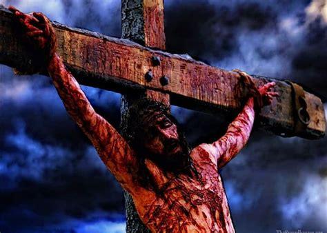 imagenes fuertes de jesus en la cruz cual es el significado real de la cruz de cristo