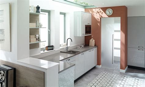 Open Kitchen Cabinet Designs second nature introduce a dove grey scheme kitchen