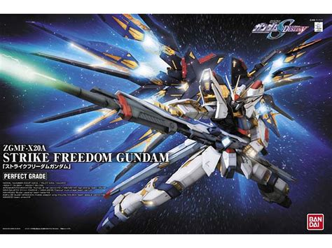 Expandable Game by 1 60 Perfect Grade Strike Freedom Gundam By Bandai