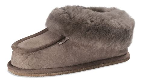 slipper boots with sole shepherd real sheepskin slippers boots sole