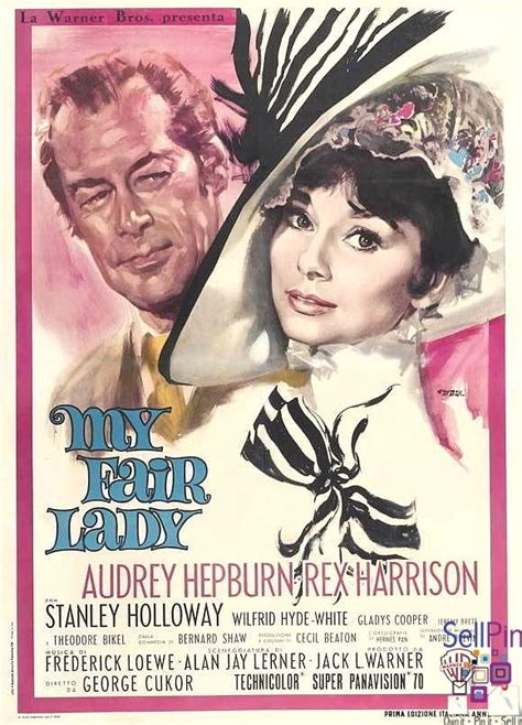 themes in my fair lady film 200 best rare out of print posters images on pinterest