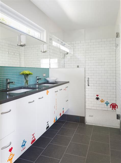 houzz kids bathroom 13 colorful ideas for kids bathrooms huffpost
