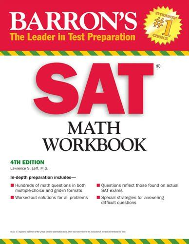 Sat Math With Cdrom sale sat practice books ged prep books ielts new