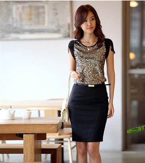 blus wanita korea cantik model terbaru jual murah import kerja