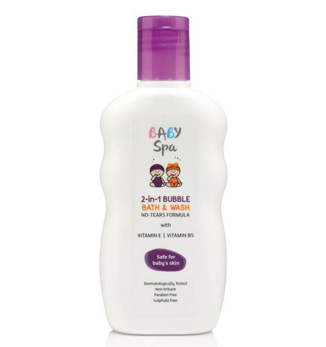 10 Best Bath Products For Baby by Baby Spa 2 In 1 Bath Wash With No Tears Formula