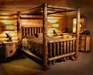 Log Canopy Bedroom Sets 25 Best Ideas About Log Bed Frame On Log Bed