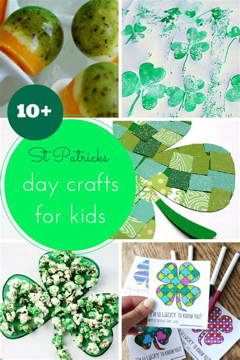 st patricks day kid crafts 10 st patricks day crafts for