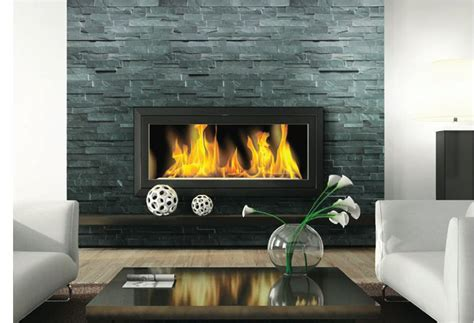 stone ledger carbon slate fireplace stone stone ledger