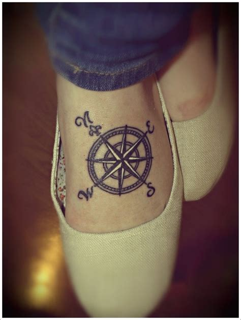 compass tattoo female compass tattoo for girls busbones