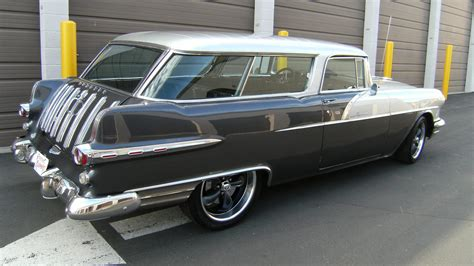 1956 Pontiac Safari Wagon 1956 pontiac safari station wagon s97 des moines 2010