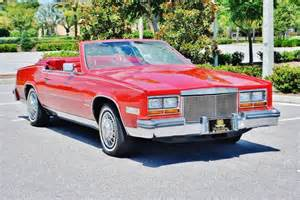 1981 Cadillac Eldorado For Sale Sell Used 1981 Cadillac Eldorado Convertible Great Cruise