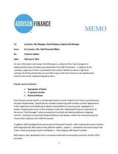 Employee Incident Report Templates finance department coso implementation memo