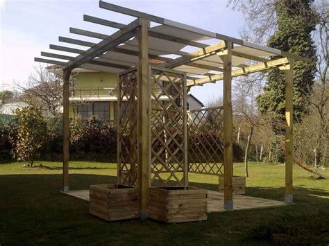 tettoie per verande tettoia veranda legno