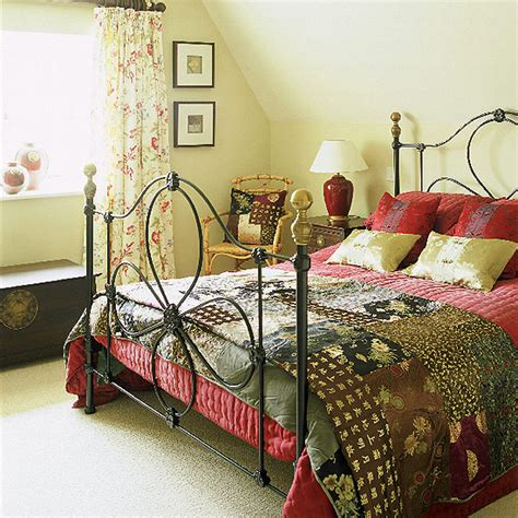 home interior design stylish country bedroom