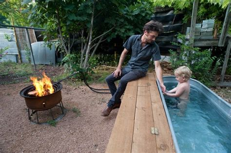 20 best images about wood fired tub on