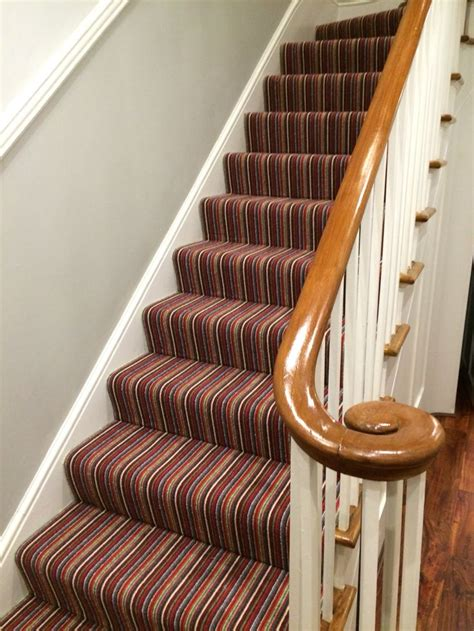 carpet for hallways and stairs 1000 ideas about striped carpet stairs on