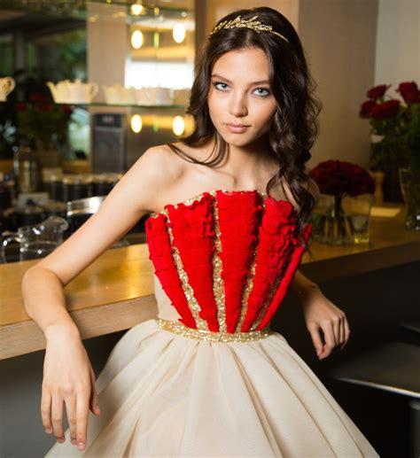 Alesya Dress elizaveta peskova alesya kafelnikova and other children