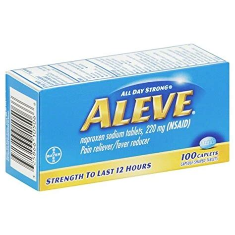 can you give a aleve naproxen can i give my