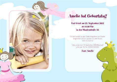 Word Vorlage Umschlag C6 Einladung Kindergeburtstag Emmi