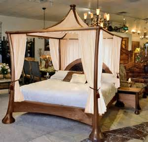 bed with curtain frame sleep like a royal family in a canopy bed frame midcityeast