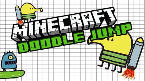 how to make doodle jump in maker minecraft doodle jump ft bremu