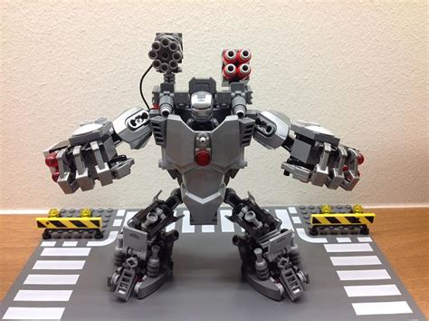 Tiny House Movement by Lego Ideas War Machine Hulkbuster