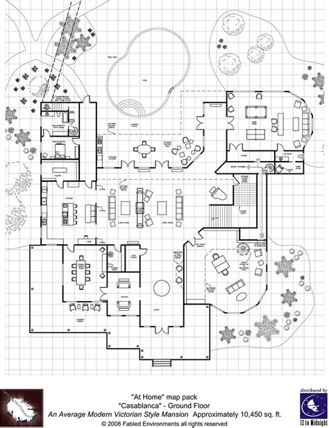 modern floorplans style mansion fabled