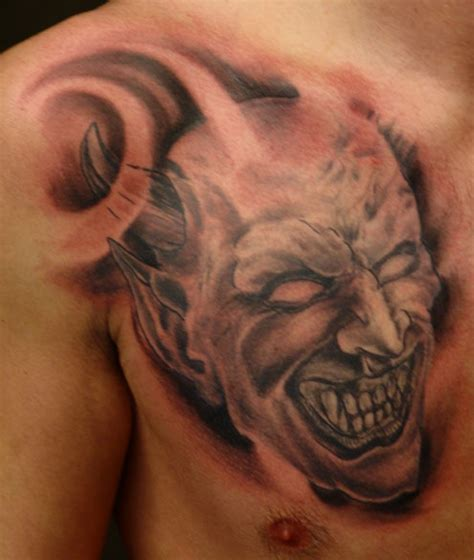 devil face tattoo designs tattoos designs ideas and meaning tattoos for you