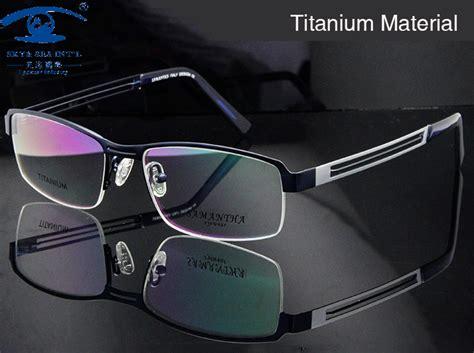 aliexpress buy titanium eyeglasses frame high