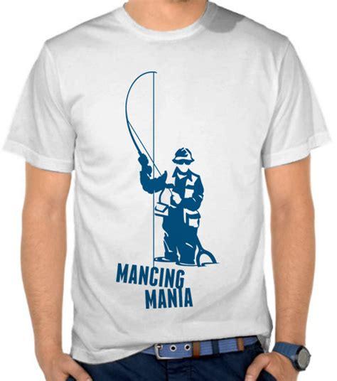 Kaos Fishing Frenzy 19 Mancing Mania jual kaos mancing mania mancing fishing satubaju