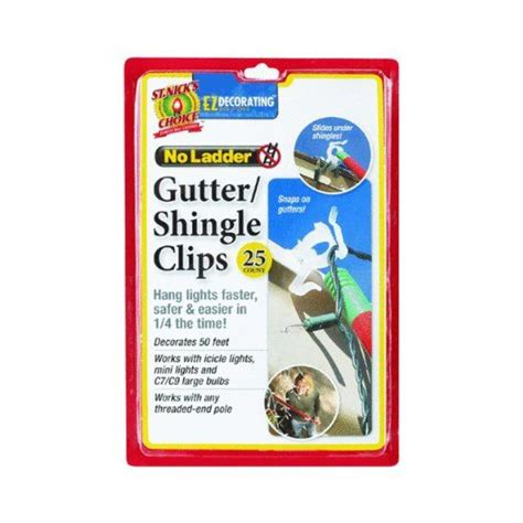 christmas light company eave grip clips dyno seasonal solutions st nick s choice 25 count gutter shingle hook these are