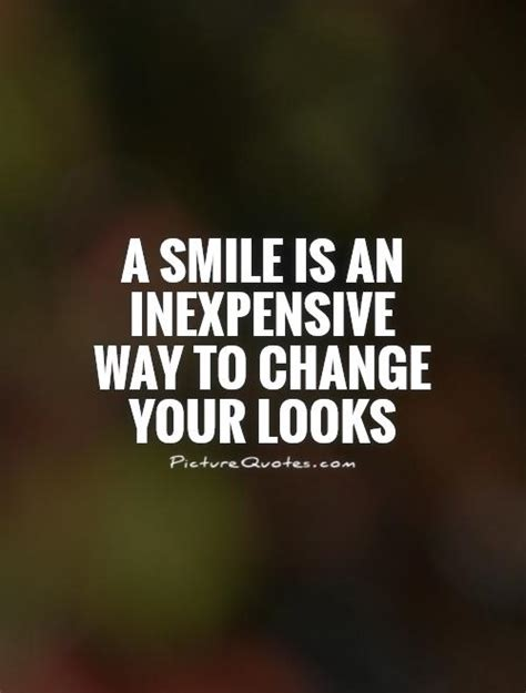 how to change your look a smile is an inexpensive way to change your looks