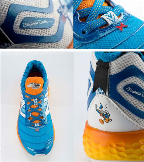 donald duck shoes these donald duck new balances are all they re quacked up