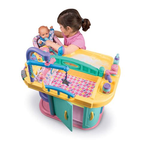 Baby Doll Changing Table And Care Center Cp Toys Baby Doll Changing Table And Care Center With Accessories Ebay